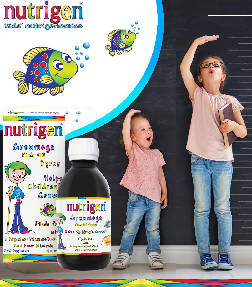 Nutrigen Growmega Fish Oil Syrup