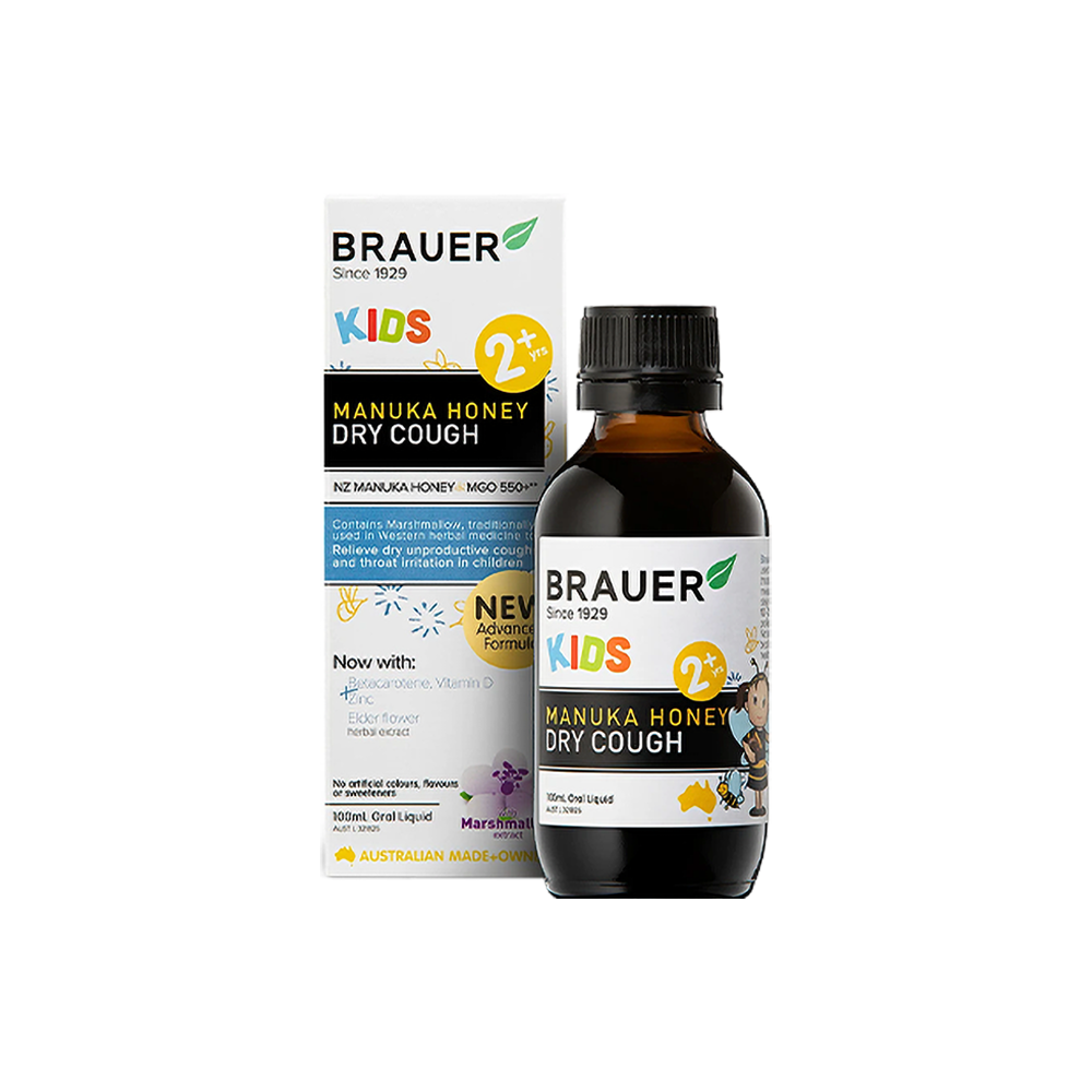 Brauer Honey Kids Dry Cough