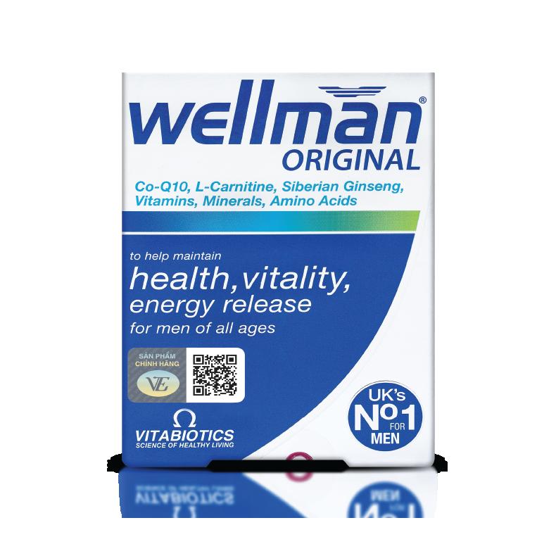 WELLMAN - Tăng cường sinh lý và sức khỏe nam giới
